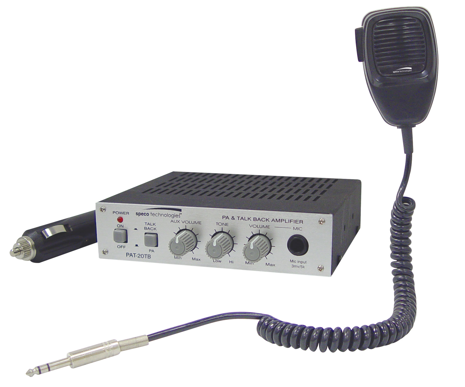 Tour Bus Pa Systems Mic Wiring Speco Mobile
